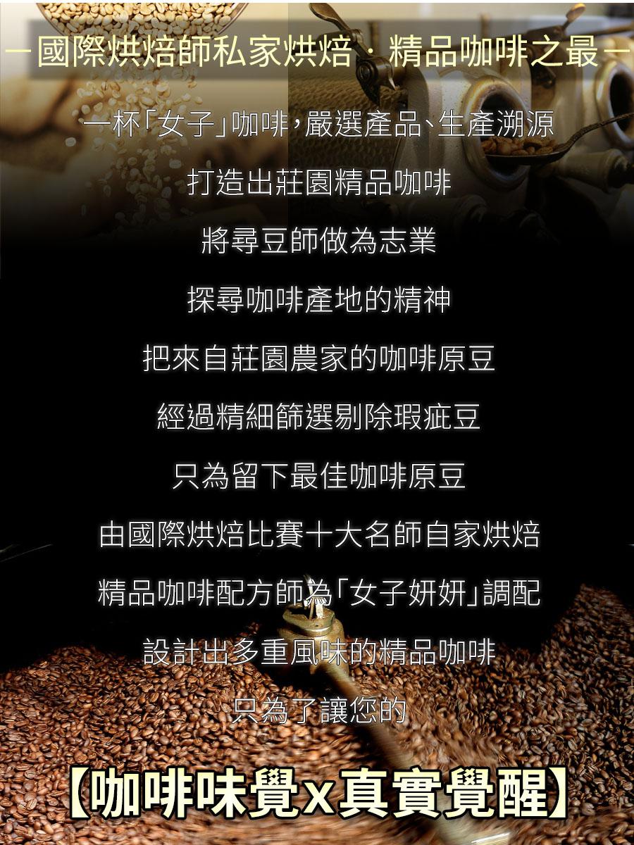 瑰夏村藝伎特調-半磅/袋