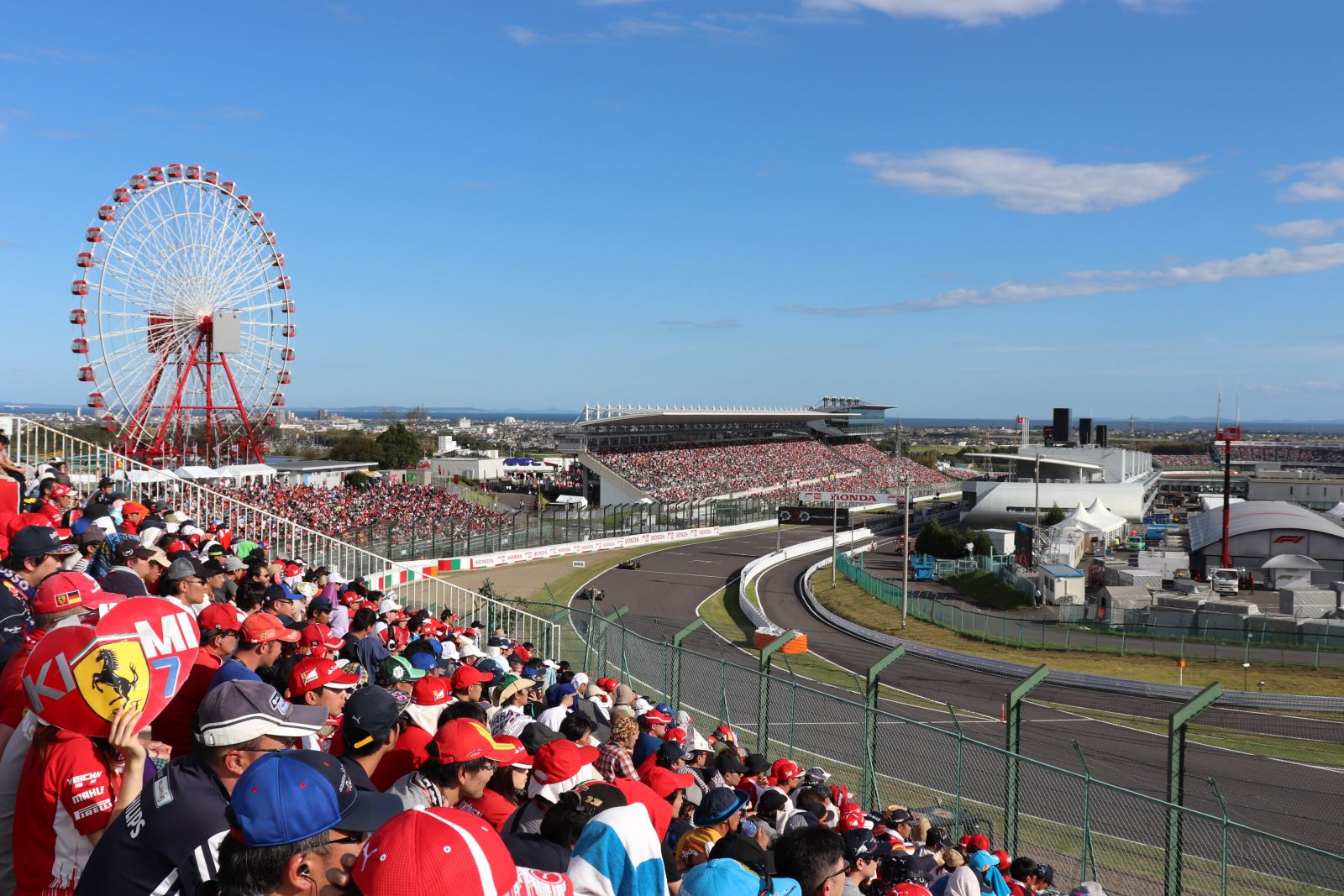 2019 F1日本大獎賽10月舉行 各國賽車迷搶進鈴鹿賽車場