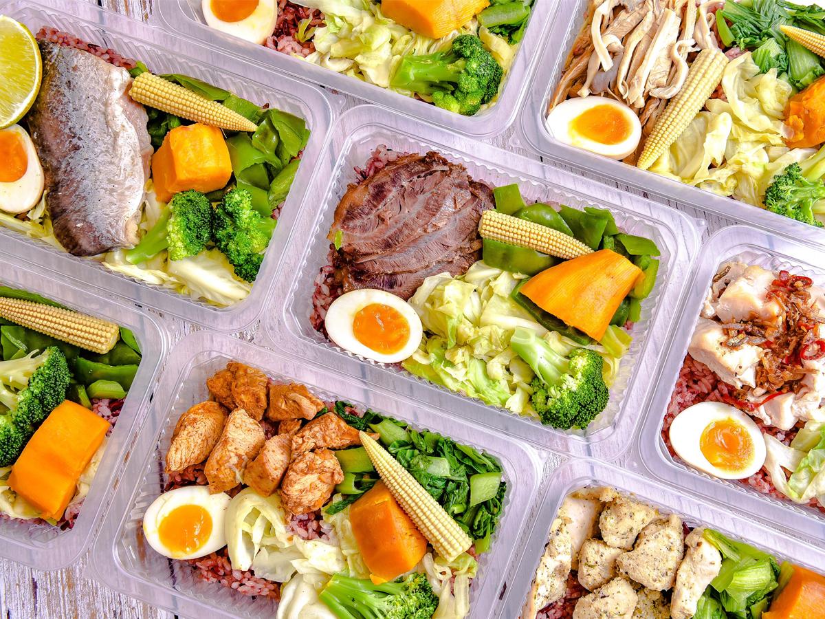 防疫不出門 平價餐盒主打健康訴求送到家
